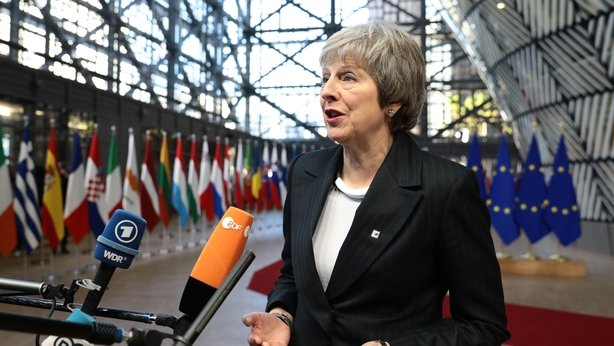 Theresa May squares up to Juncker in squabble over 'nebulous' insult