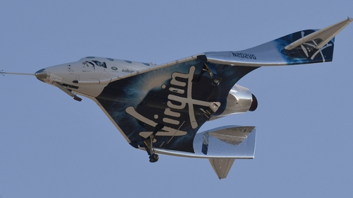 Virgin's SpaceShipTwo reaches space for first time