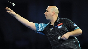 Rob Cross leapfrogged Michael Van Gerwen to the summit as a result of his win
