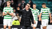 Celtic manager Brendan Rodgers saw his team advance despite the home defeat to Salzburg