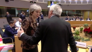 UK government source said Theresa May and Jean-Claude Juncker had plenty to discuss