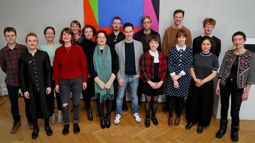 The 2018 class of Arts Council Next Generation bursary recipients