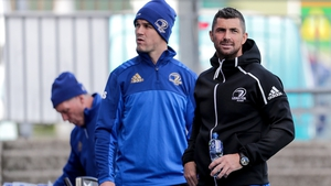 Jonathan Sexton (L) and Rob Kearney have both won
