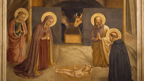 The Nativity, 1438-1455, by Fra Angelico (Pic: Getty Images)