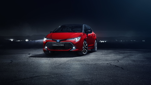 The Corolla hatchback starts at €26,995.