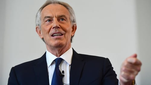 Mr Blair said it is when things are really bad that you want to be involved.