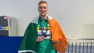 Shane Ryan won bronze in China