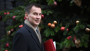 """We are not a superpower and we do not have an empire,"" Jeremy Hunt said"