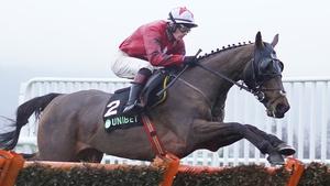 Sam Twiston-Davies riding the New One at Cheltenham