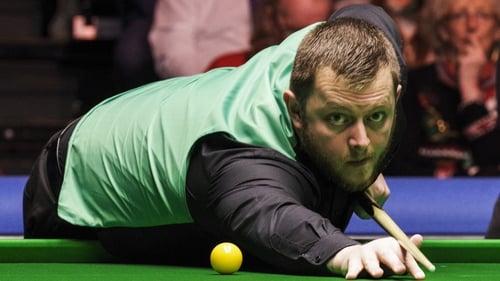 Mark Allen battled into the second round in Glasgow