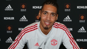 Chris Smalling was due to be out of contract at the end of the season