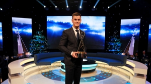 Johnny Sexton was the 2018 recipient of the RTÉ Sportsperson of the Year award