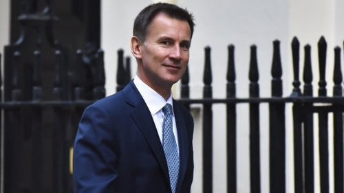Jeremy Hunt also said he wanted a 'crack' at succeeding Theresa May