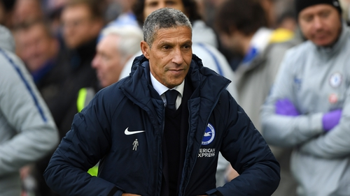 Chris Hughton spent four-and-a-half years as Seagulls boss