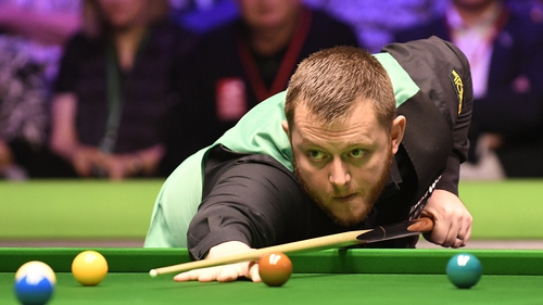 Mark Allen will face Stephen Maguire in the semis