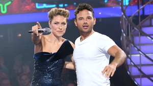 """Ryan Thomas with Celebrity Big Brother host Emma Willis on the night he was crowned the winner - """"It was scary to show people the real Ryan Thomas, but I'm grateful people liked what they saw"""""""