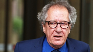 Geoffrey Rush apologised if his behaviour caused any distress