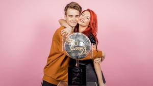"""Joe Sugg and Dianne Buswell - """"I may not have won the glitter ball, but I've won something a million times more special"""" Photo: BBC"""