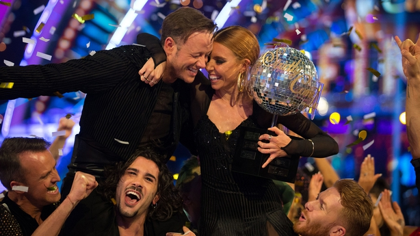 Strictly's Louise Redknapp & Kevin Clifton not in touch