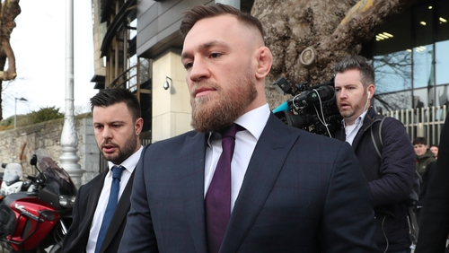 Conor McGregor has addressed the incident where he was filmed punching a man in the face in Drimnagh