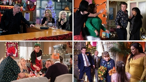 We've got the lowdown on all the top soap moments from over the festive period
