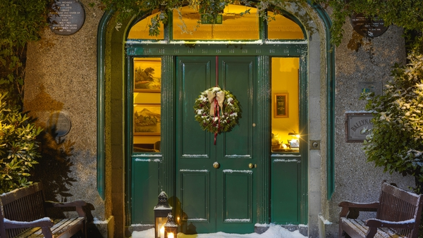 Christmas Door, Ballynahinch