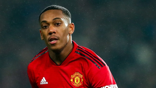Anthony Martial is in line to return to the Manchester United side