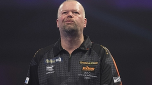 Raymond van Barneveld failed to make an impression in his penultimate World Championship