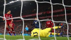 Liverpool won 3-1 despite the keeper's error