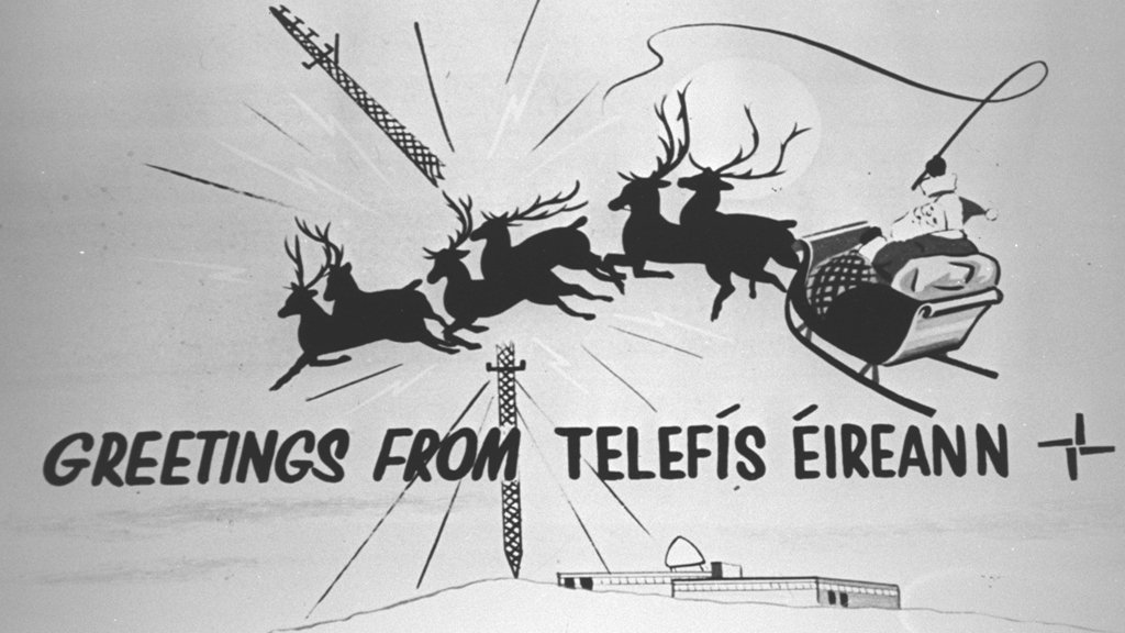 Christmas Greetings from Telefís Éireann