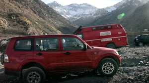 The bodies were found in a remote area in the High Atlas mountains