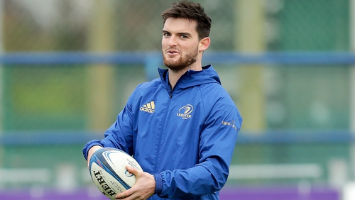 Tom Daly has made 12 appearances for Leinster since making his debut against Zebre in November 2016