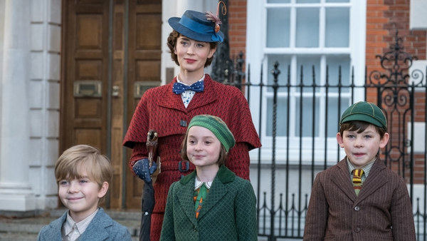 Emily Blunt: a nanny with attitude