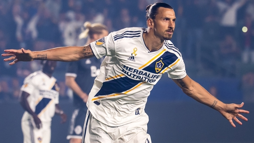 I'm not finished' - Zlatan extends LA Galaxy deal