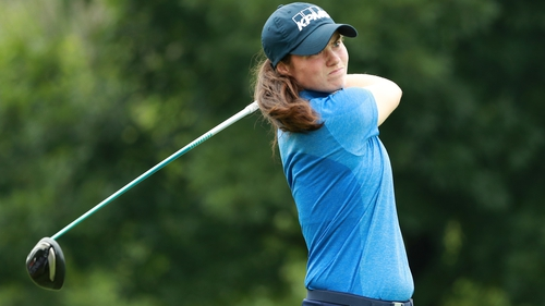 Leona Maguire is in a tie for fourth
