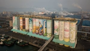 It has been named by Guinness World Records as the largest outdoor mural in the world
