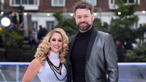 Brian McFadden is said to be in a lot of pain following a shoulder injury