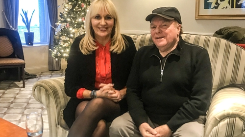 Miriam O'Callaghan and Van Morrison