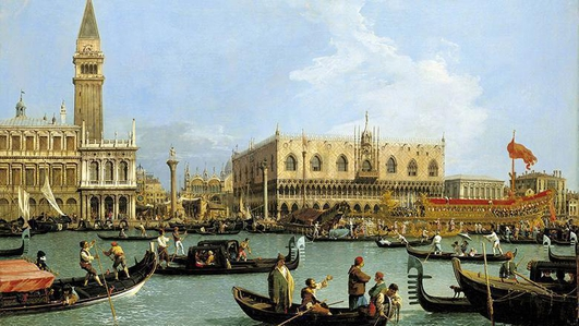 """Review:  """"Canaletto and The Art of Venice"""" at the National Gallery"""