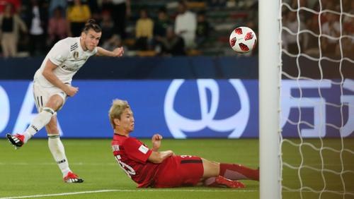 Gareth Bale scores for Madrid