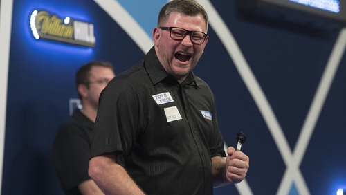 James Wade survived a scare