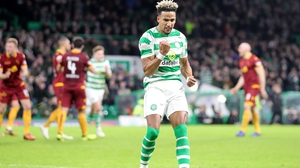 Scott Sinclair scored from the spot for the Bhoys