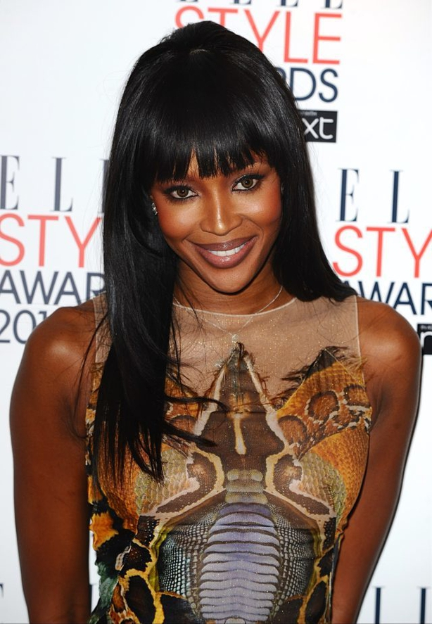 Naomi Campbell arriving for the Elle Style awards (Ian West/PA)