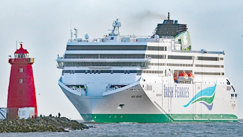 Services were cancelled last summer as a new ferry the company had ordered, WB Yeats (above), was delayed