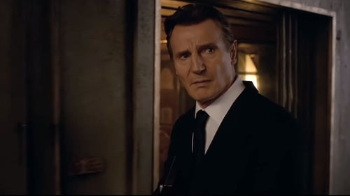 Liam Neeson in the trailer for Men In Black International