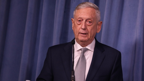 Jim Mattis will leave the post at the end of next February