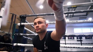 "Carl Frampton: ""The plan is to become a three-weight world champion. That's my goal."""