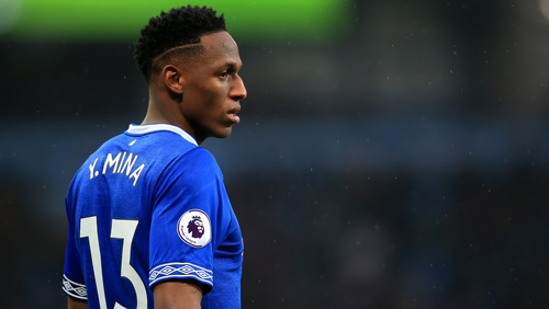 An FA regulatory commission said Yerry Mina took part in a television advert with a Colombian betting company called Betjuego, and accepted the misconduct charge.