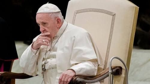 Pope Francis urged abusers to hand themselves over to police