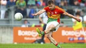 Paul Broderick starred in Carlow's Championship run